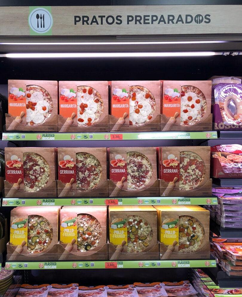 Pizzas Frescas Mercadona