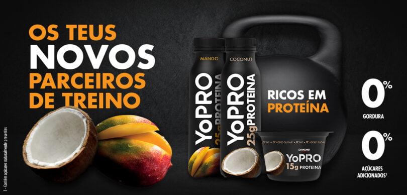 YoPro - Danone - Iogurtes