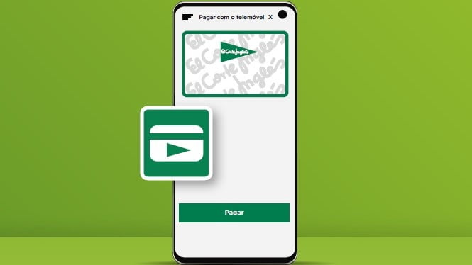 O El Corte Inglés apostou numa aplicação para o seu cartão de crédito, que permite aos seus detentores utilizar o telemóvel para compras.