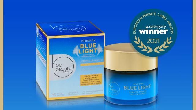 O creme facial blue light protection Be Beauty, do Pingo Doce, foi o vencedor categoria Non-Food do European Private Label Awards.