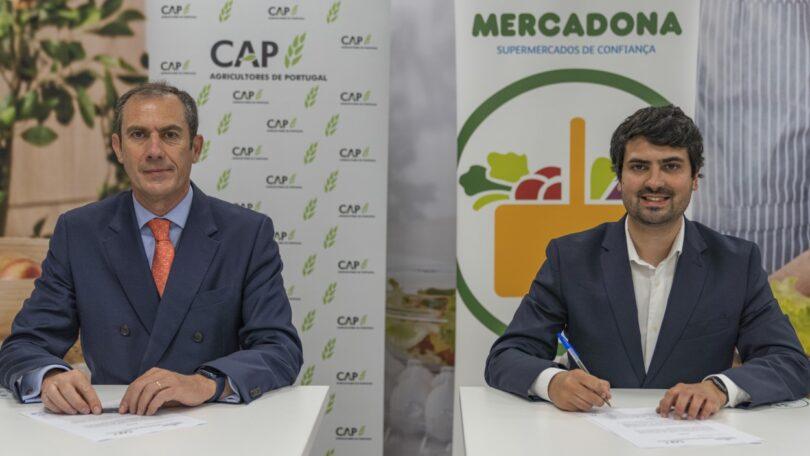 A Mercadona e a CAP assinaram um protocolo de colaboração com o objetivo de dinamizar a produção nacional portuguesa.