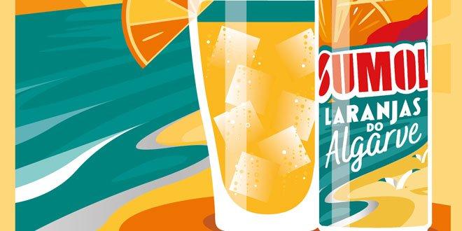 """A Sumol lançou a campanha de comunicação para o seu novo sabor Sumol Laranjas do Algarve, que tem a assinatura: """"Intensamente Português""""."""