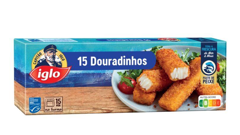 O sistema de rotulagem Nutri-Score foi adotado pela Iglo, sendo que já vai estar presente este mês nas embalagens de Douradinhos.