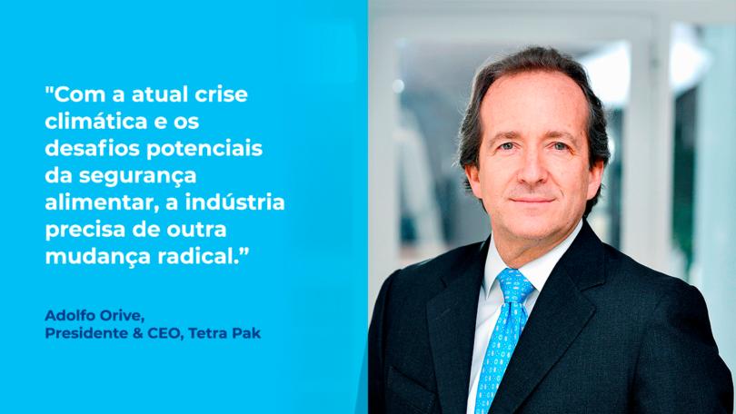 """A iniciativa da agência TBD Media Group e das Nações Unidas, """"50 Líderes em Sustentabilidade e Clima"""", integrou a Tetra Pak na lista."""