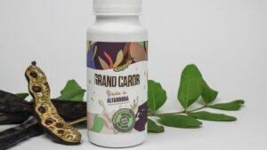 A bebida vegetal de alfarroba da marca portuguesa Grand Carob já está à venda na grande distribuição, mais recentemente no Celeiro.