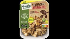 A Garden Gourmet lançou as novas Sensational Mediterranean Pieces, uma alternativa à carne de frango condimentada ao estilo mediterrâneo.