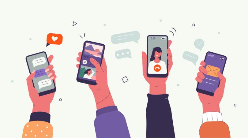 redes sociais - estatística