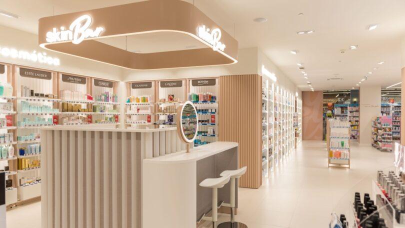 A Wells conta agora com mais uma nova loja a integrar o seu novo conceito de beauty alargado com perfumaria, maquilhagem e cosmética.