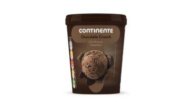 Gelado Continente Chocolate Crunch