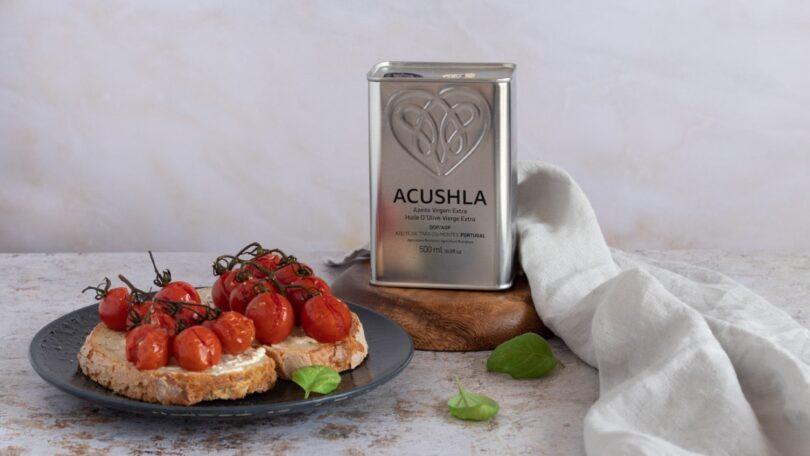O azeite biológico português Acushla já recebeu mais de 50 prémios nos últimos quatro anos, sendo que 90% da produção é atualmente exportada.